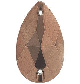 Metallic Sew-On Stones 17 x 28 mm Drop (50 pieces)