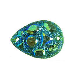 Moon Rock Stone 18 x 25 mm Drop (10 Pieces)