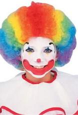 Clown Wig Multicoloured