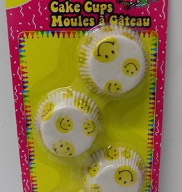 Printed Cake Cups  Happy Face 3 inches (80CT)