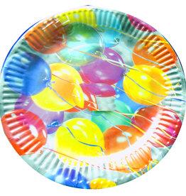 8/pk Balloon Plates 7 Inches