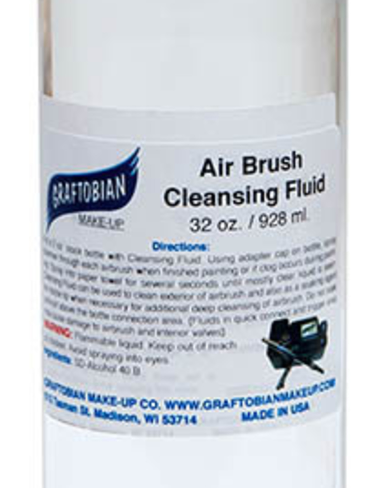 Air Brush Cleansing Fluid 32 oz