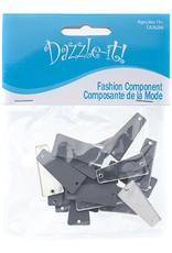 Acrylic Mirror (20 pcs) Crystal 11x27mm Triangle