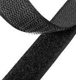 Velcro Non-Adhesive 1 Inch  Black (Yard)