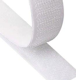 Velcro Adhesive 1 1/2 Inch White (Yard)
