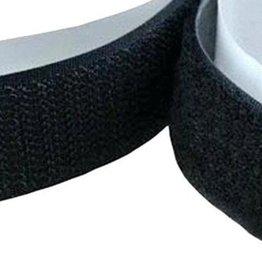Velcro Adhesive 1 1/2 Inch (roll 27.5 yards) Black