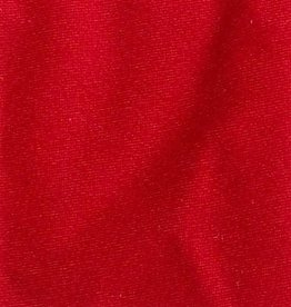 Plain Spandex 58-60 Inches (yard) Red