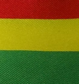 Satin Striped - Red , Yellow and Green