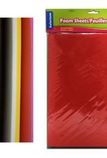 """9X12"""" Eva Foam Sheets, Asst Colors 10/Pkg"""