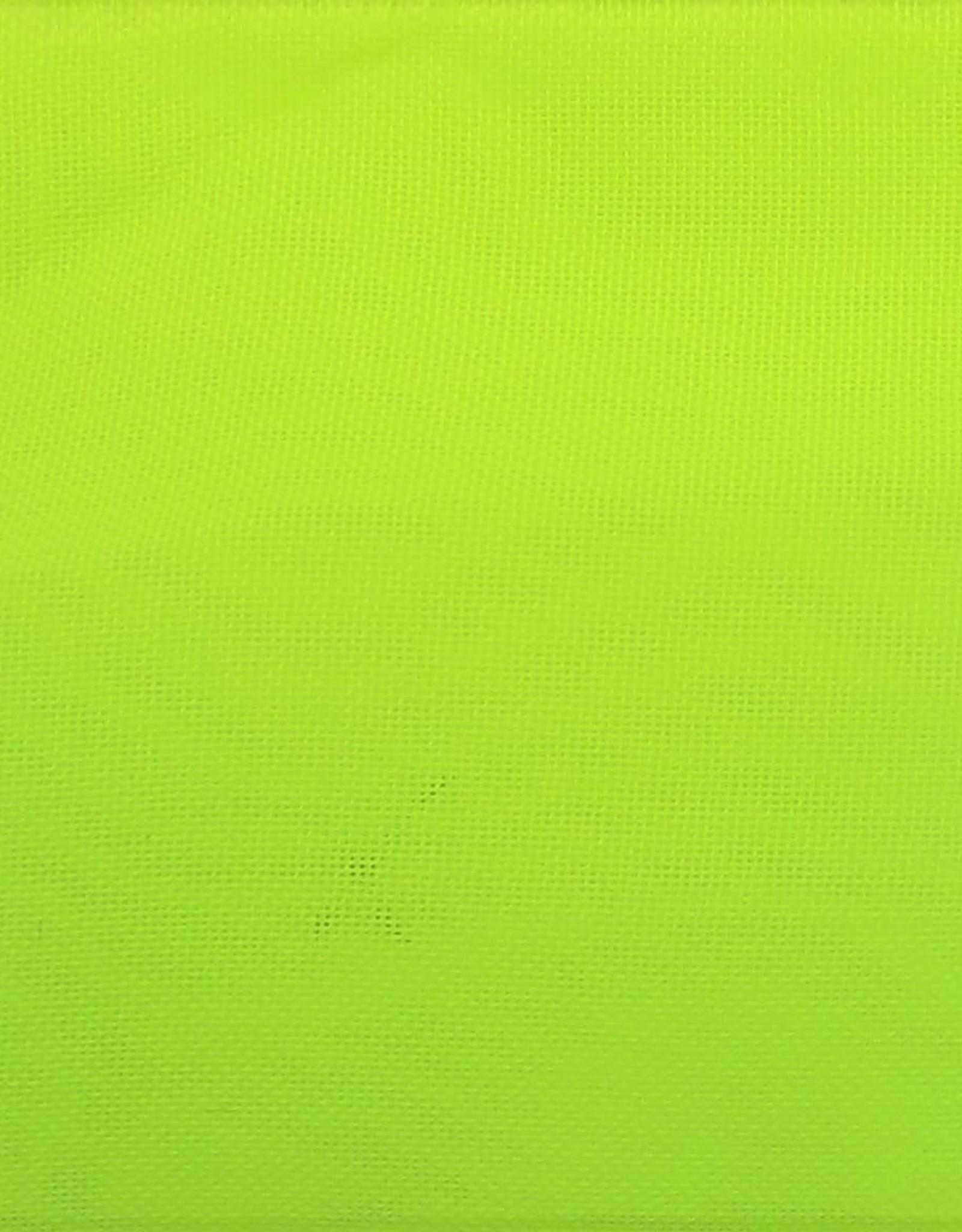 Chiffon 58 - 60 Inches Neon Yellow (Yard)