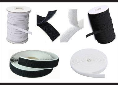 Elastic and Velcro