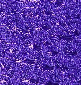 Pattern Fandango Leatherette w/ Fleece Backing Purple