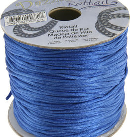 Rattail Cord 1.5mm (100 yards)  Blue