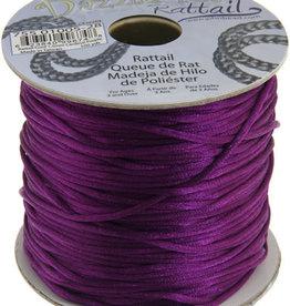 Rattail Cord 1.5mm (100 yards)  Cardinal Purple