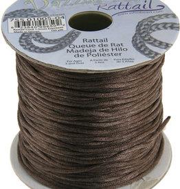 Rattail Cord 1.5mm (100 yards)  Espresso