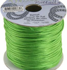 Rattail Cord 1.5mm (100 yards)  Grass Green