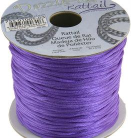 Rattail Cord 1.5mm (100 yards)  Purple