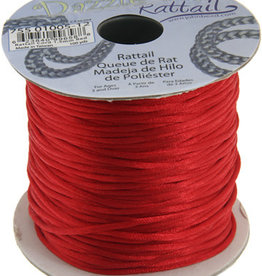 Rattail Cord 1.5mm (100 yards)  Red