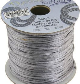 Rattail Cord 1.5mm (100 yards)  Silver