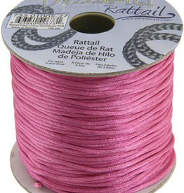 Rattail Cord 1.5mm (100 yards)  Strawberry Pink