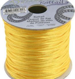 Rattail Cord 1.5mm (100 yards)  Yellow