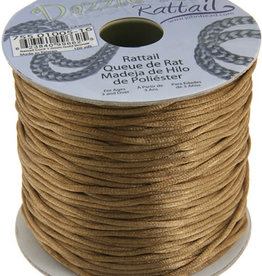 Rattail Cord 1.5mm (100 yards)  Gold