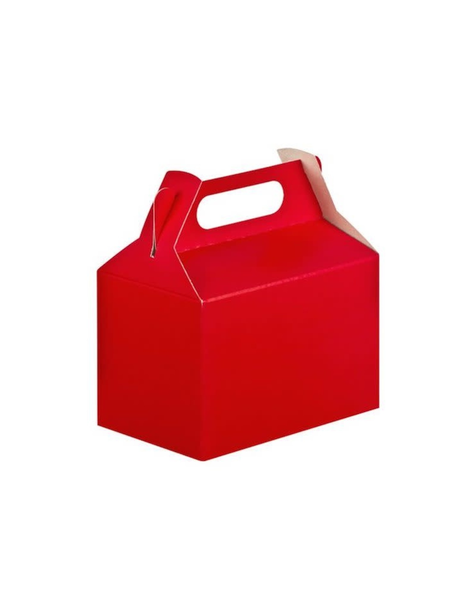 8Ct Party Boxes, Red