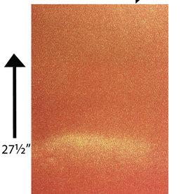 Glitter Card Stock 360 GSM Orange Iridescent