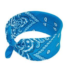Bandana Paisley Patterned Turquoise Blue