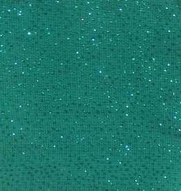 Shimmer Fabric 1way Stretch Plain Teal