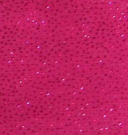 Shimmer Fabric 1way Stretch Plain Fuchsia