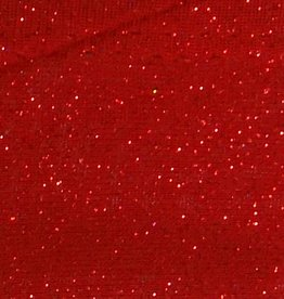 Shimmer Fabric 1way Stretch Plain Bright Red