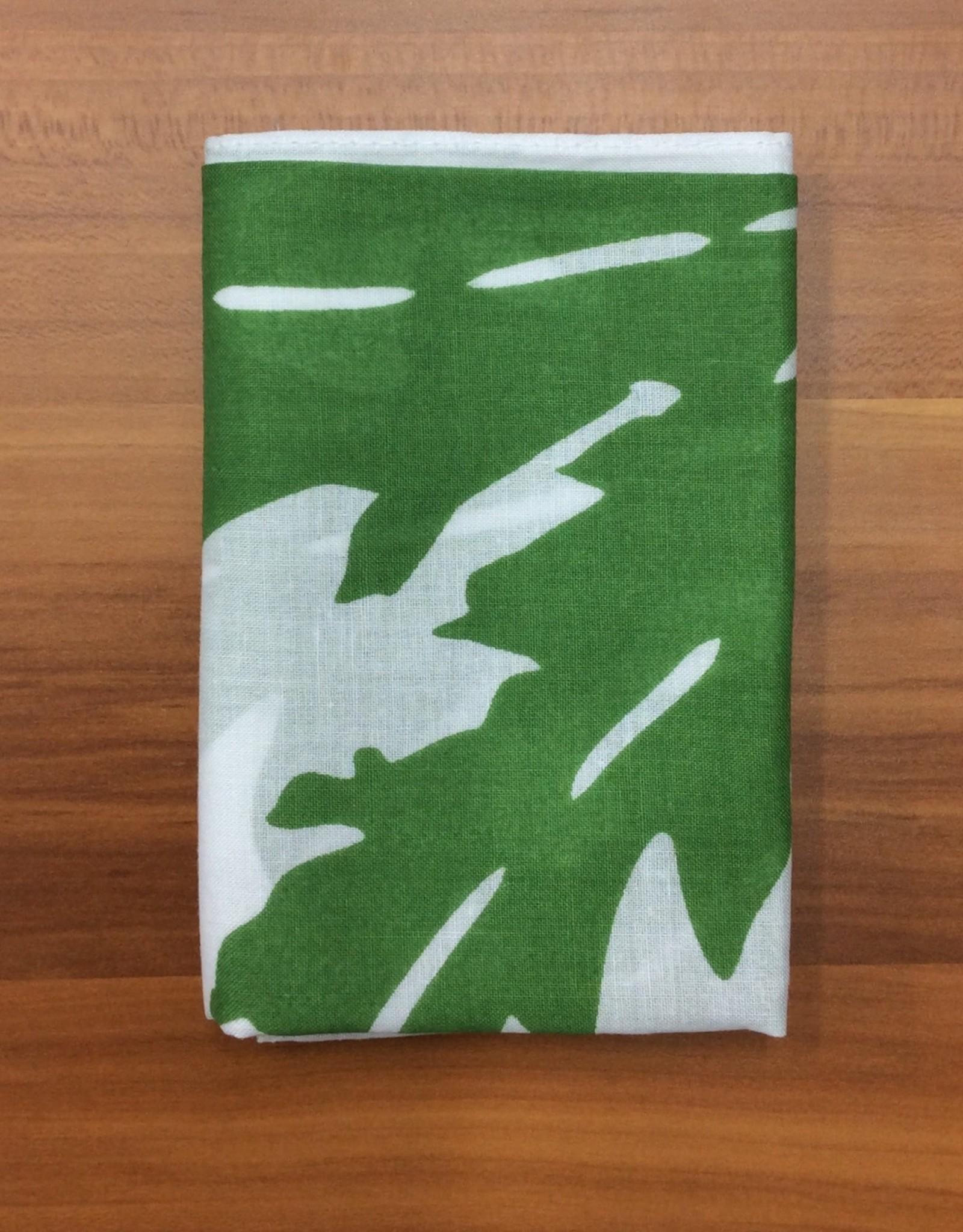 Bandana Patterned  Ganja Leaf