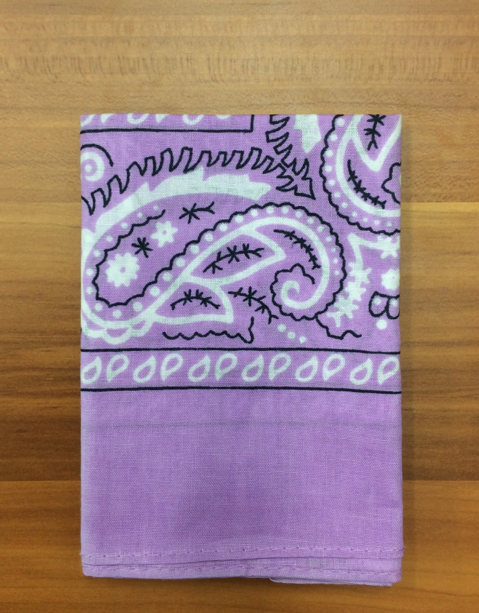 Bandana Paisley Patterned Lilac