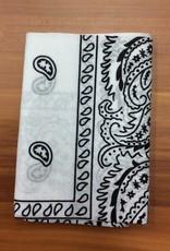 Bandana Paisley Patterned White