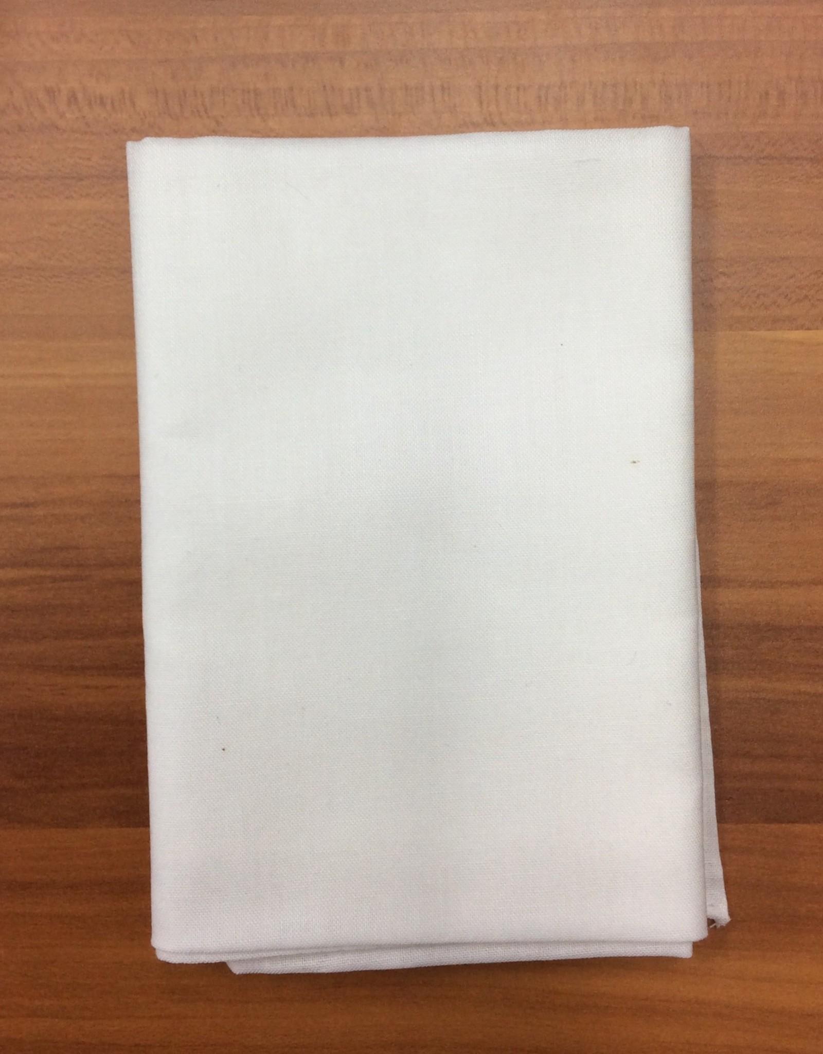 Bandana Plain (No Pattern) White