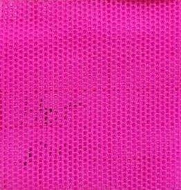 Stretch Mesh Plain  Hot Pink