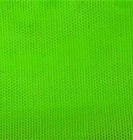 Stretch Mesh Plain  Neon Green