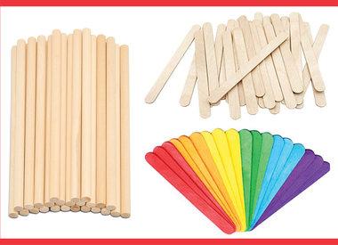 Dowels & Craft Sticks