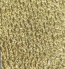 Pattern Nugget Leatherette with Fleece Backing Gold