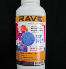 RAVE KOLOR Powder 100grams Sky Blue