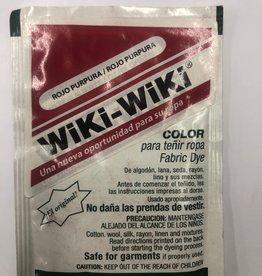 Wiki-Wiki Fabric Dye Dark Red (Rojo Purpura)