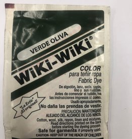 Wiki-Wiki Fabric Dye Olive Green(Verde Oliva)