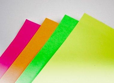 Bristol Board 185GSM 22 x 28 Inches Fluorescent