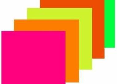 Bristol Board 180GSM 19 5/8 x 27 1/2 Inches  Neon