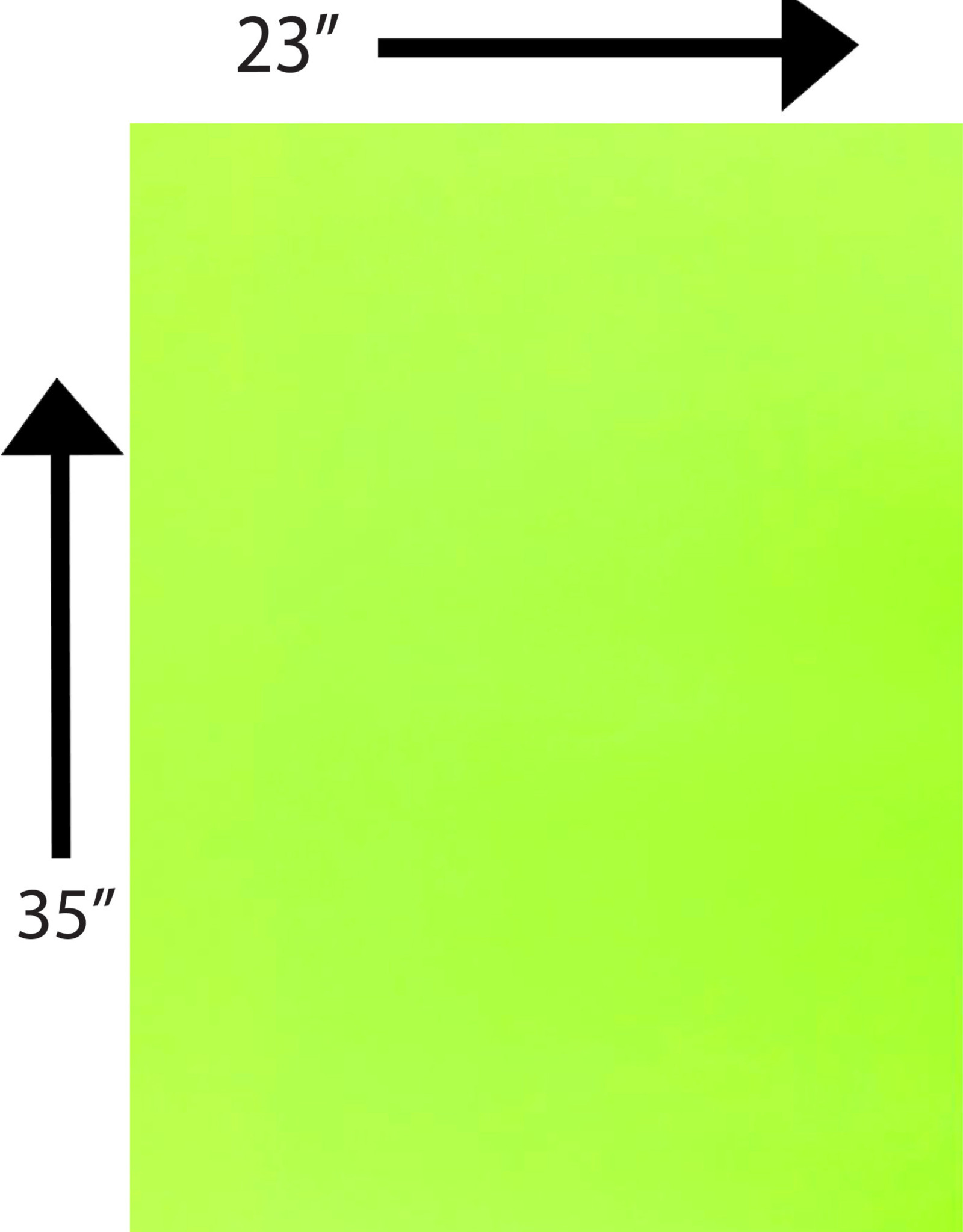 Bristol Board 176GSM 23 x 35 Inches Lime