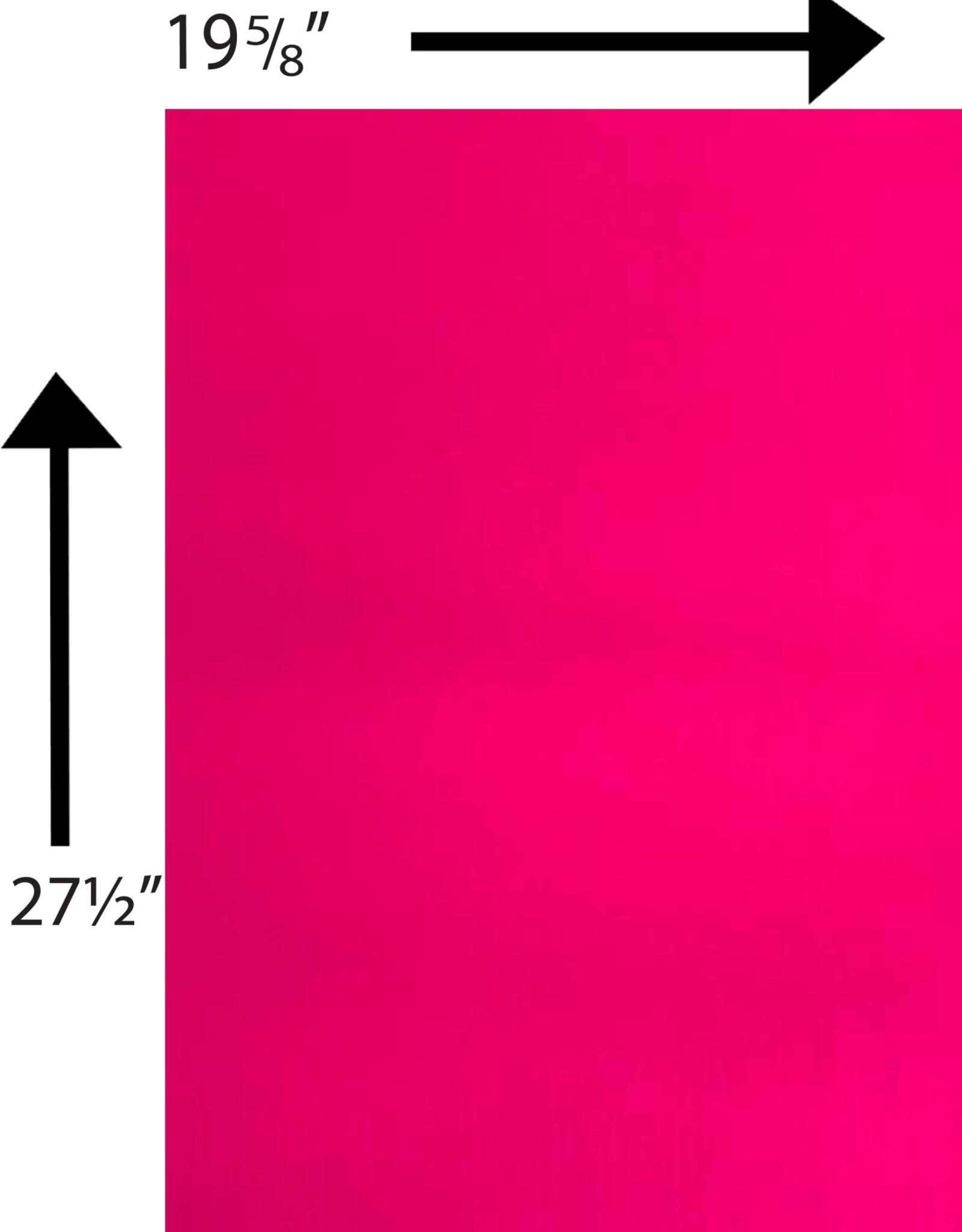 Bristol Board 180GSM 19 5/8 x 27 1/2 Inches Neon Pink