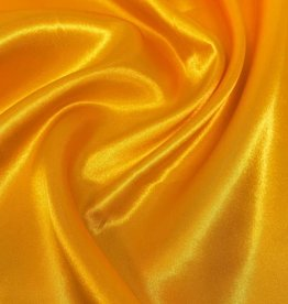 Satin Polyester 58 - 60 Inches  Golden Yellow (#4)
