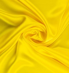 Satin Polyester 58 - 60 Inches  Canary Yellow (#9)