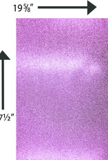 Glitter Card Stock 360 GSM 19 5/8 x 27 1/2 Inches Light Pink